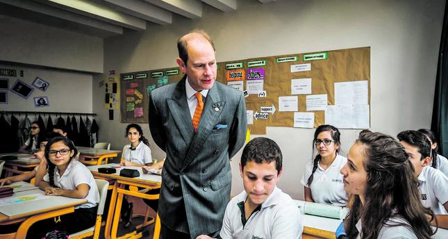 Prince Edward visits Istanbul orphans' school –Daily Sabah