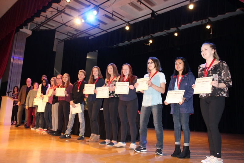 High school students celebrated for their academic excellence – Thompson Citizen