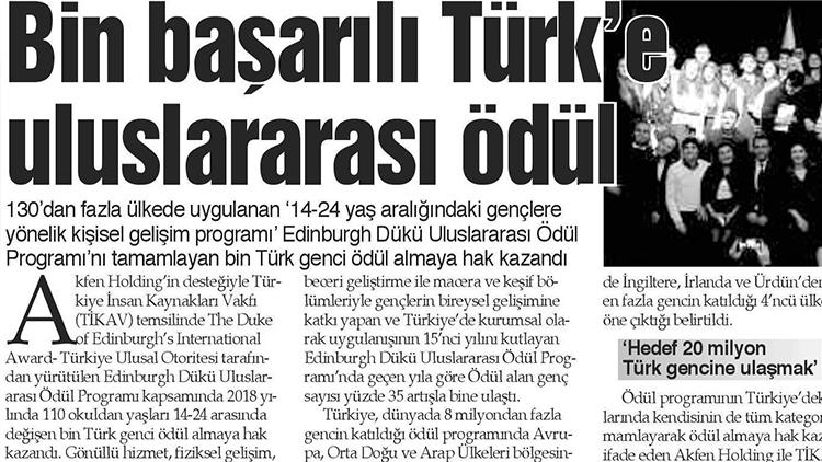 Bin Başarılı Türk'e Uluslararası Ödül – Mavi Kocaeli